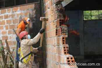 En Pácora tumbaron una casa que utilizaban para vender estupefacientes - BC NOTICIAS - BC Noticias