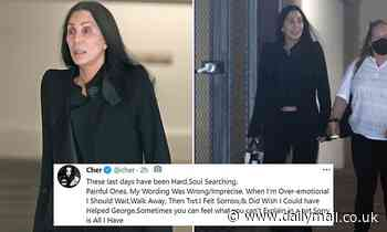 Cher apologizes for her 'emotional' tweets claiming that she could have saved George Floyd's life