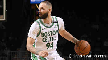 Celtics' Brad Stevens gives updates on Evan Fournier, Tristan Thompson