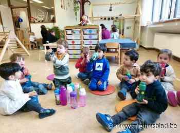 Leerlingen Zavelberg leren bewust omgaan met water - Het Nieuwsblad