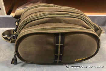 Saanich police hope to hook up fishing bag found in Cordova Bay with owner – Victoria News - Victoria News