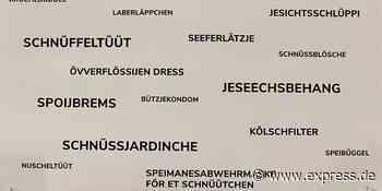 Museum Köln: Kölsche Bezeichnungen für Mund-Nasen-Schutz - Express.de