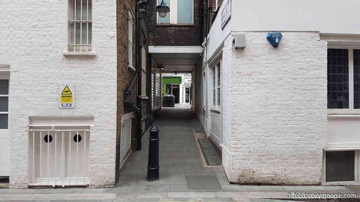 London's Alleys: South Molton Passage, W1