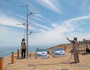 IGP instalará 3 estaciones sísmicas en Huarmey y una en Santiago de Ica - Agencia Andina