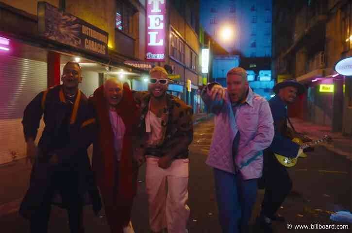 Piso 21 & Maluma's 'Más De La Una' Hits Top 10 on Latin Rhythm Airplay Chart