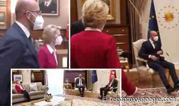 Von der Leyen sidelined in awkward snub as Charles Michel pinches chair at Turkey meeting