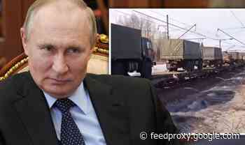 Russia ordered to 'explain provocations' as chilling video shows tanks heading to border