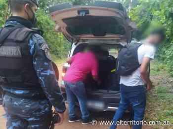 Puerto Iguazú: intentó ingresar al país escondido en el baúl de un remis - EL TERRITORIO