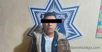 Detienen a un sujeto con arma de fuego, en Apan - Criterio Hidalgo
