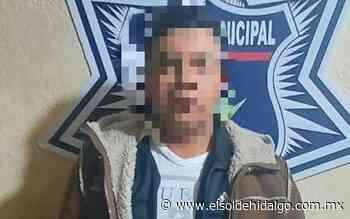 Municipales de Apan detienen a hombre armado - El Sol de Hidalgo