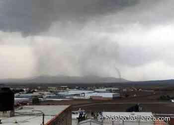 VIDEO | Se registra tornado en Apan; no hay heridos - La Silla Rota