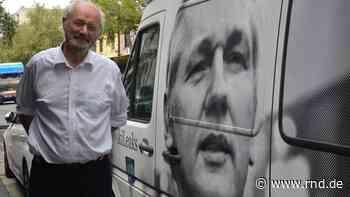 """Julian Assange - Vater John Shipton über seinen Sohn: """"Sie wollen ihn umbringen, nicht einsperren"""" - RND"""