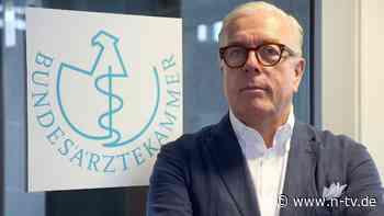 """""""Akzeptanz nicht verspielen"""": Ärztepräsident warnt vor Corona-Blindflug"""