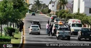 Condujo ebrio su bici y derrapó en Lomas de Angelópolis - Periodico Central