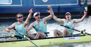 Shawnigan Lake School graduate Richardson wins Boat Race with Cambridge - Times Colonist