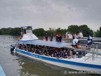 Embarcaciones en Coveñas movilizaron a más de 11 mil turistas - EL HERALDO