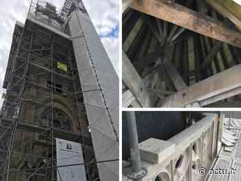 Val-d'Oise. Le clocher de l'église de Vigny retrouve son éclat d'antan - La Gazette du Val d'Oise - L'Echo Régional