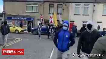 Portadown parade involving masked men investigated