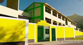 Cajamarca: declaran viable proyecto de construcción de colegio en Bambamarca - LaRepública.pe