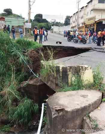 Colapsó el puente La Chivata en Táriba estado Táchira - El Nacional