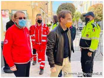"""Covid, Diano Marina: assessore regionale Marco Scajola in visita centro vaccinale. """"Vaccino strumento fondamentale per uscire dalla pandemia"""" - IMPERIAPOST"""