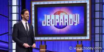 Shailene Woodley is really proud of fiancé Aaron Rodgers for hosting 'Jeopardy!'