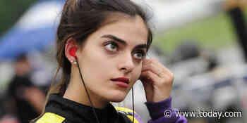 Toni Breidinger talks making history as NASCAR's first Arab American female driver
