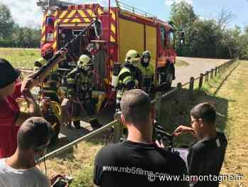 À Migennes (Yonne), des ados sortent un court-métrage de soutien aux pompiers victimes d'agression - Migennes (89400) - La Montagne