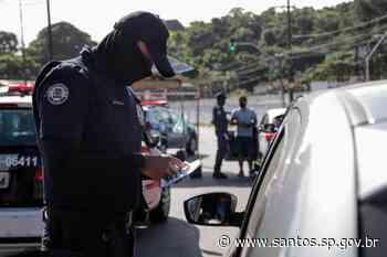 Barreiras sanitárias abordam 478 veículos em Santos | Prefeitura de Santos - Prefeitura de Santos