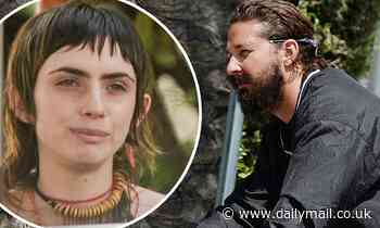 Shia LaBeouf grabs lunch with a mystery woman in Pasadena - Daily Mail