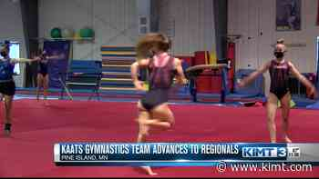 KAATS gymnastics team advances to the USAG Regional Competition - KIMT 3