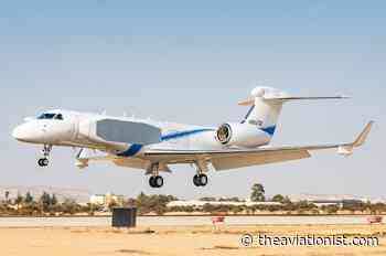 """The Israeli Air Force Officially Introduces The """"Oron"""": A Highly-Modified G550 With """"Unprecedented ISR Capabilities"""" - The Aviationist"""