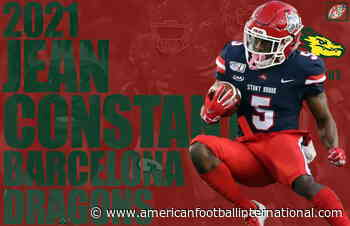 European League of Football's Barcelona Dragons sign 2-time All American WR Jean Constant - American Football International