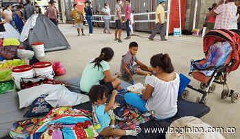 En Arauquita, el miedo de los desplazados prevalece en los albergues | La Opinión - La Opinión Cúcuta