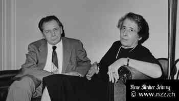 Hannah Arendt und Heinrich Blücher: Wie hat das Paar gearbeitet? - Neue Zürcher Zeitung