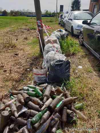 ORBASSANO - La polizia locale indaga su una mini discarica al confine con Tetti Francesi - TorinoSud
