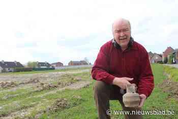 Archeologische vondsten op geplande woonwijk in Ulbeek - Het Nieuwsblad