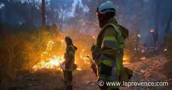 Incendie à Auriol : le feu est désormais fixé - La Provence