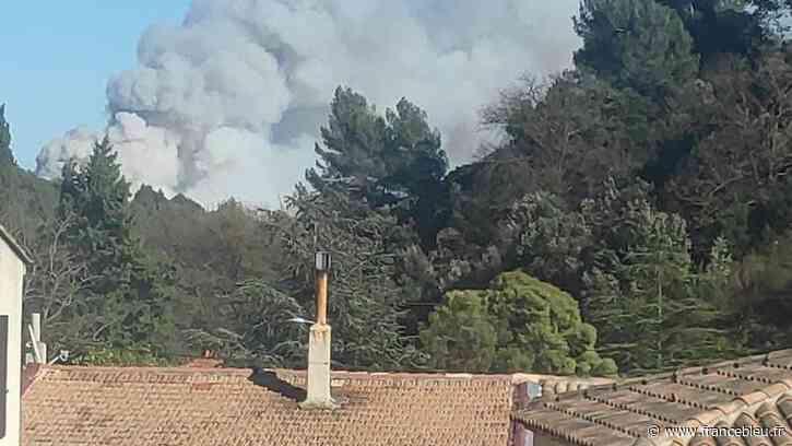 """Incendie à Auriol : """"On n'a pas dormi de la nuit, toutes les équipes sont mobilisées"""" dit la maire - France Bleu"""