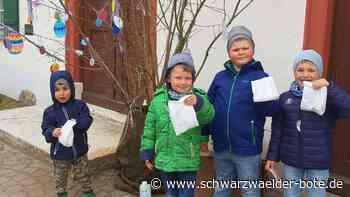 Stetten am kalten Markt: Tollpatschiger Hase hat 45 junge Helfer - Schwarzwälder Bote