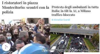 RISTORATORI E AMBULANTI: SCONTRI E PROTESTE IN TUTTA ITALIA - Landolfo Giuseppe