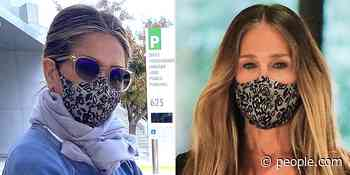 The Supremely Comfy Face Mask Jennifer Aniston and Sarah Jessica Parker Love Is the Cheapest It's Ever Been - PEOPLE