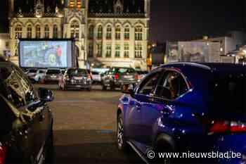 Drive-in cinema bij Volvo Trucks en op nieuwe locatie in De Pinte. Bezoekers mogen films kiezen