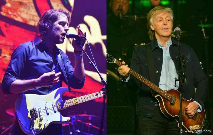 "Listen to Radiohead's Ed O'Brien remix Paul McCartney's 'Slidin"""