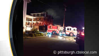 Several Departments Respond To House Fire In Derry Borough