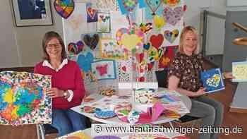 Gifhorner Kinder malen 600 Herz-Bilder für Senioren