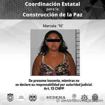 Detienen a mujer que cobraba piso a comerciantes en Tepalcingo - David Monroy Digital