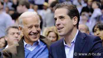 """""""Beautiful Things"""": Biden-Sohn erzählt von seiner Crack-Sucht"""