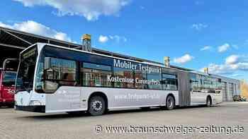 Covid-19: Schnelltest-Bus startet im Landkreis Wolfenbüttel