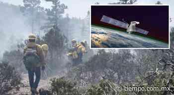 Captó satélite de la NASA humo de fuerte incendio en San Juanito - El Tiempo de México
